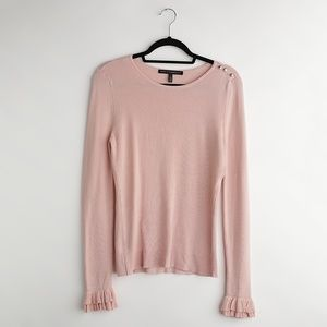 White House Black Market | Pink Sweater| Size S